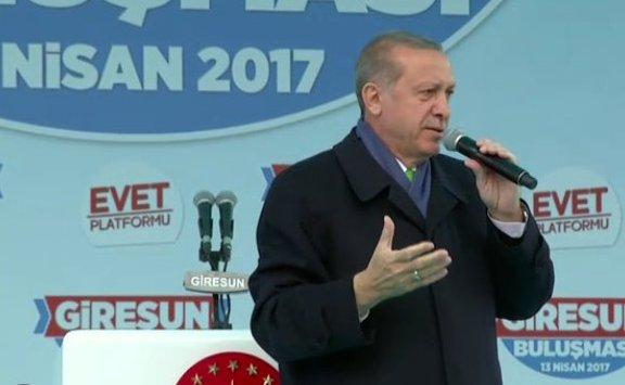 Erdoğan bildiğiniz gibi: 'Hayır' sefalettir, yokluktur
