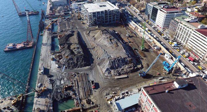 'Tarihi yıkım' projesi Galataport durduruldu