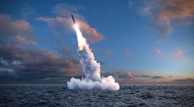 KDHC'den Japon Denizi'nde balistik füze denemesi