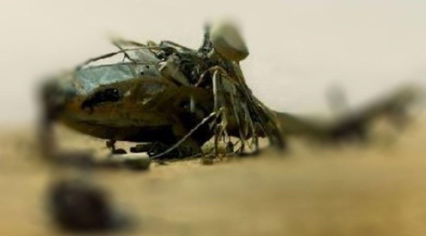Suudi Arabistan'a ait askeri helikopter düştü, 12 asker öldü