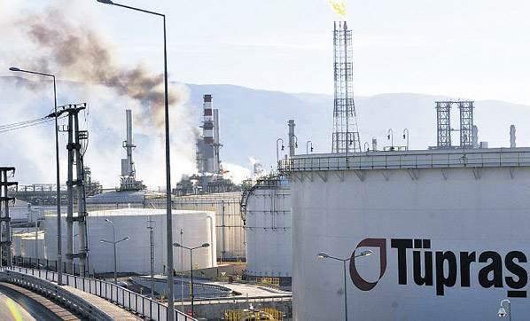 Tüpraş'ta işçiler üretimi durdurdu
