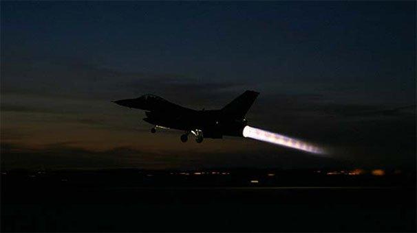 TSK'dan Sincar'a hava operasyonu