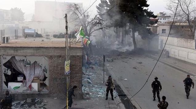 Afganistan'da askeri üsse saldırı: 150 ölü