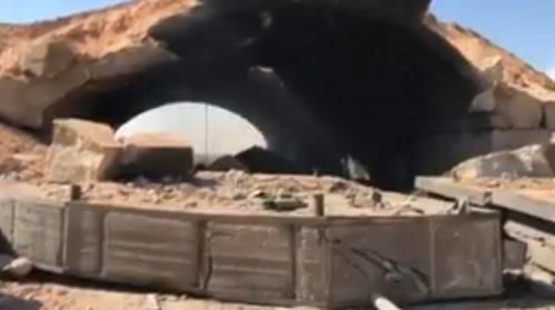VİDEO | İşte ABD'nin vurduğu Al-Shayrat hava üssünden görüntüler...
