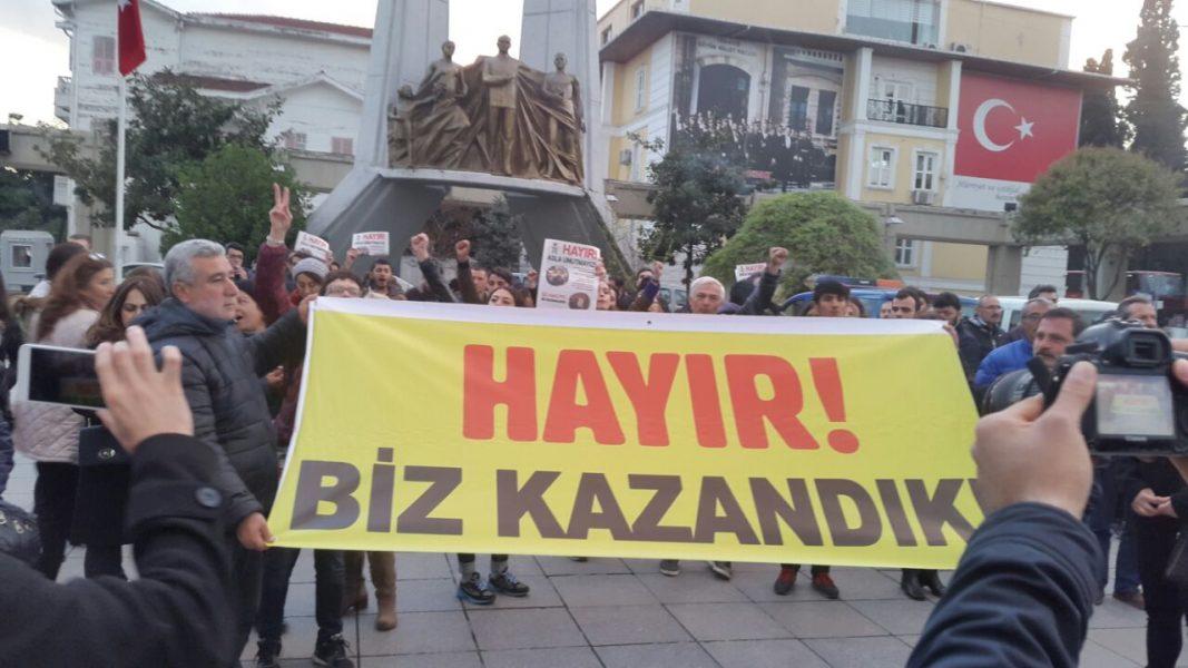 Türkiye'nin dört bir yanında halk HAYIR için sokağa çıktı!