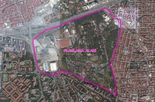Bakırköy Ruh ve Sinir Hastalıkları Hastanesi arazisine imar planı değişikliği
