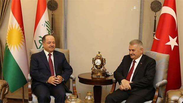 Başbakan, Barzani ile telefonda görüştü