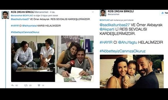 Sosyal medyada Cem Yılmaz ve Fatih Portakal'a