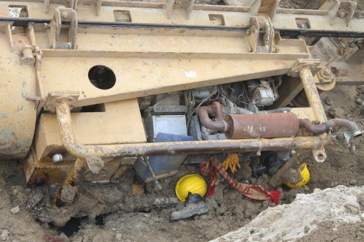 Tekirdağ'da iş cinayeti: İş makinesinin altında kalan işçi feci şekilde can verdi