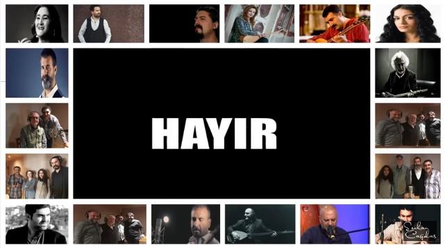 VİDEO | Erdal Erzincan'dan HAYIR türküsü: Benim Oyum, Benim Davam Hayırlıdır