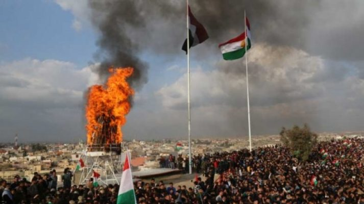Bağdat'tan'Kürdistan bayrağı' kararı