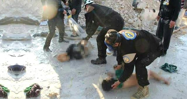 Cihatçıların İdlib'deki kimyasal silah yalanları