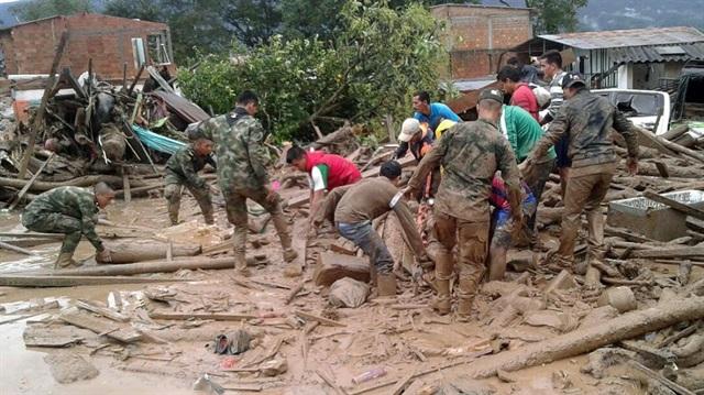 Kolombiya'da sel felaketi: Yüzlerce ölü ve yaralı