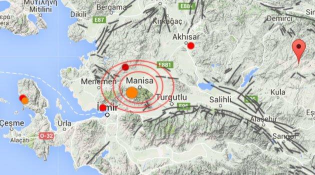 Ege Bölgesi'ndeki depremler korkutuyor: Manisa'da 24 saatte 68 deprem