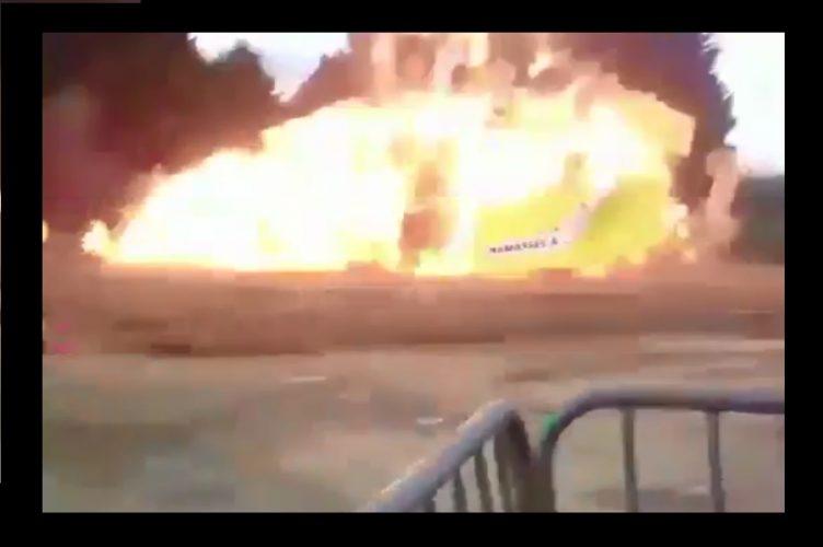 VİDEO | Paris'te patlama: 5'i ağır 18 yaralı