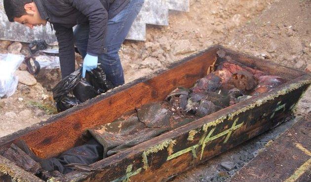 Ardahan'da inşaat kazısında bulunan tabut hangi Rus generale ait?
