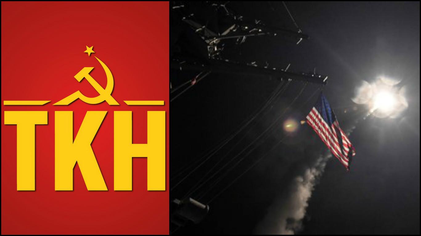 Komünistlerden açıklama: Haydut devlet ABD'nin savaşına geçit vermeyeceğiz!