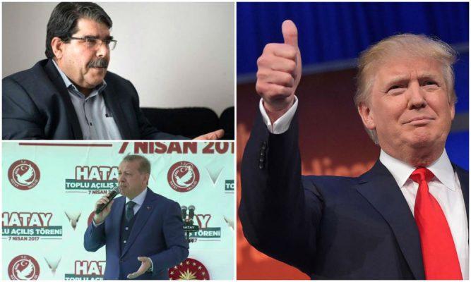 Amerikancılık Salih Müslim'i Erdoğan ile buluşturdu: Ümit ediyorum ki bu sadece Suriye rejimiyle sınırlı kalmaz