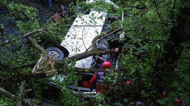 Zonguldak'ta feci trafik kazası: 10 ölü, 16 yaralı