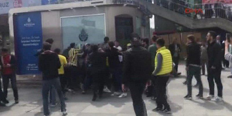 Yunan taraftarlara Şirinevler'de de saldırı
