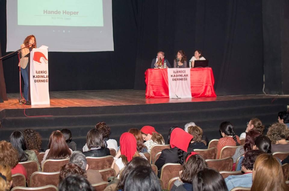 İlerici Kadınlar Derneği Türkiye Konferansı toplandı