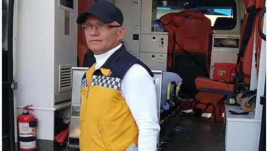 Ambulans şöförü direksiyon başında kalp krizi geçirerek hayatını kaybetti