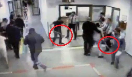 VİDEO | İstanbul'da acil servisi balta ve sopalarla bastılar