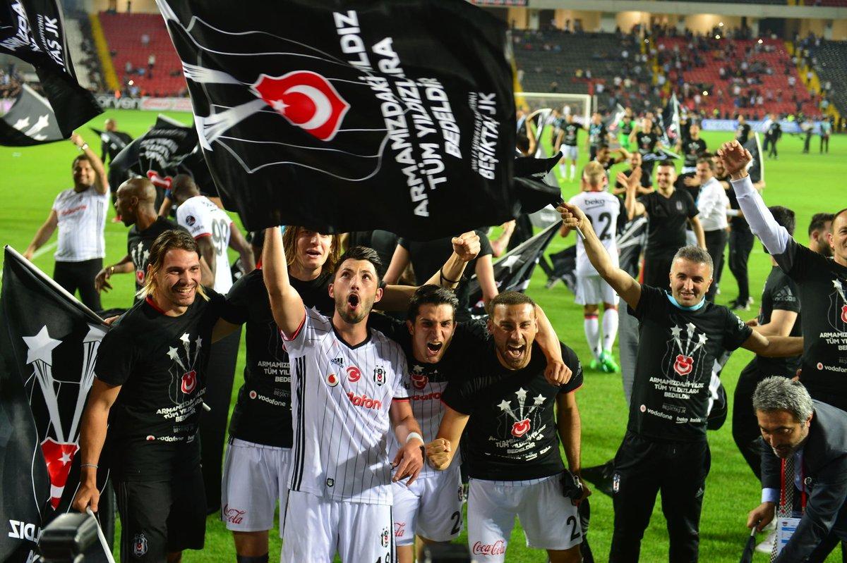 Futbolda şampiyon Beşiktaş