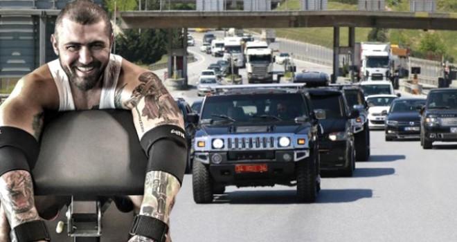 Çete reisi Şıklaroğlu'nun konvoyla cezaevine gitme şovu düzmece çıktı