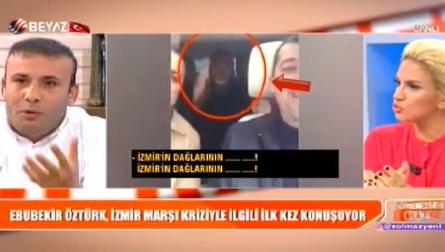 VİDEO | İzmir Marşı'na küfreden oyuncuya Beyaz TV kapılarını açtı: Erdoğan'ı seviyorum, aşığım