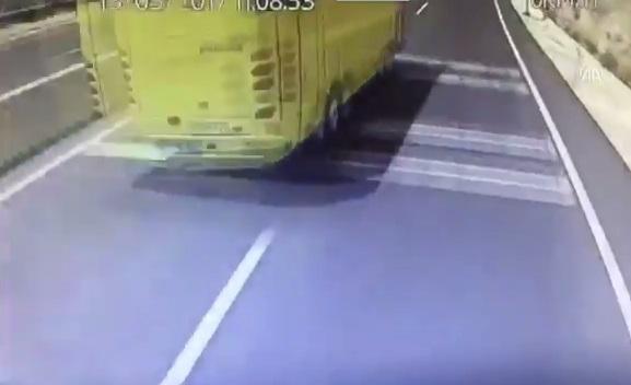 VİDEO | Marmaris'te 24 kişinin öldüğü kaza kamerada