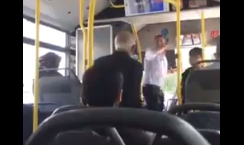 VİDEO | Otobüs şöförü