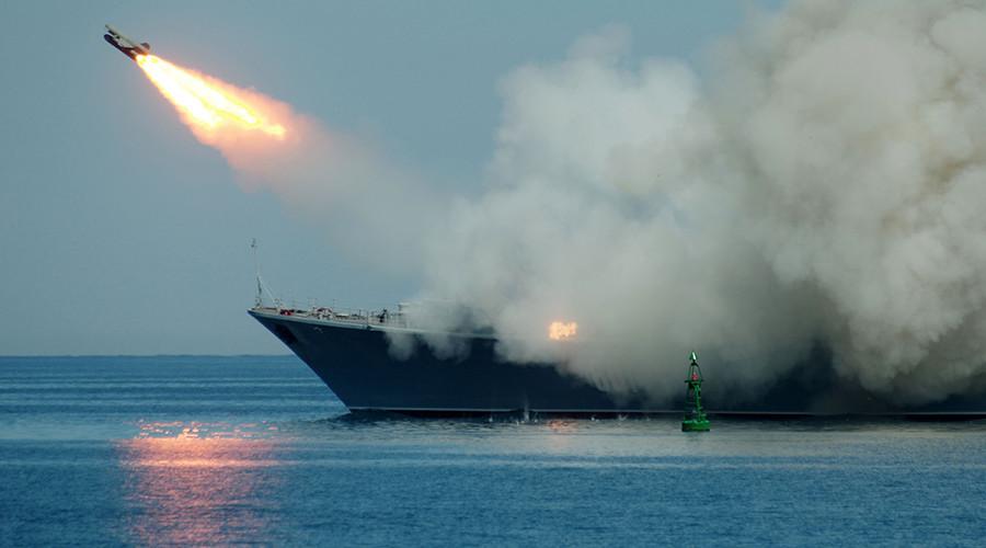 Rus savaş gemileri Akdeniz'den IŞİD'i vurdu