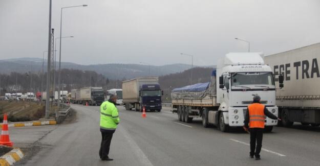 Bolu Dağı TEM Otoyolu 22 gün trafiğe kapanacak
