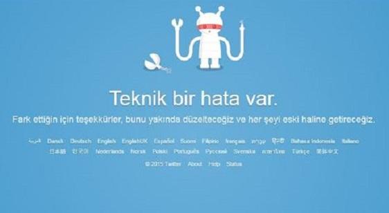 Twitter'da erişim sorunu: Açıklama geldi