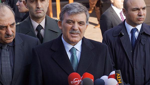 Abdullah Gül'den'konuşma' kararı