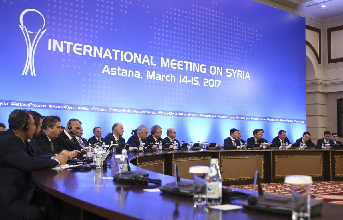 Astana'da çatışmasızlık mutabakatı imzalandı