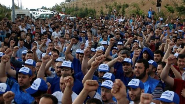 Cam işçilerinden yedi fabrikada grev kararı