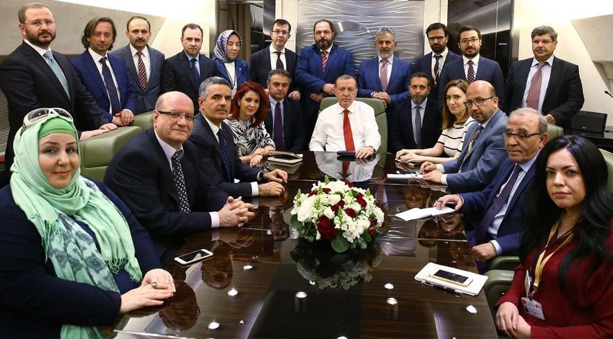 Erdoğan AKP'li yazarlar arasındaki kavga için ilk kez konuştu