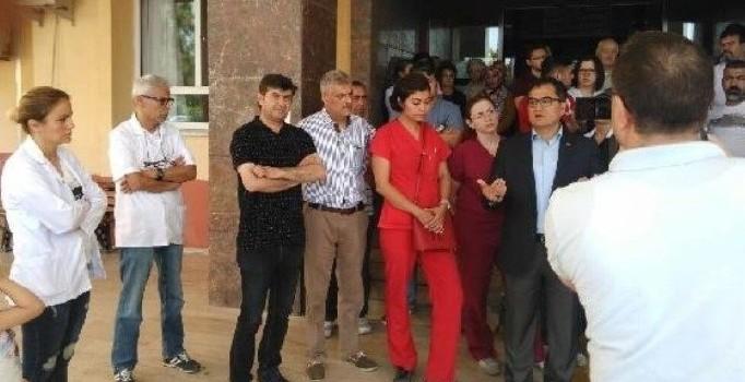 İzmir'de dehşet: Önce hamile eşini dövdü, sonra sağlık çalışanlarını sıradan geçirdi