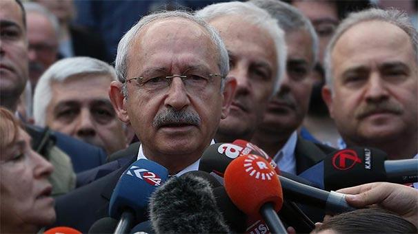 Kılıçdaroğlu ve CHP'li vekillere fezleke