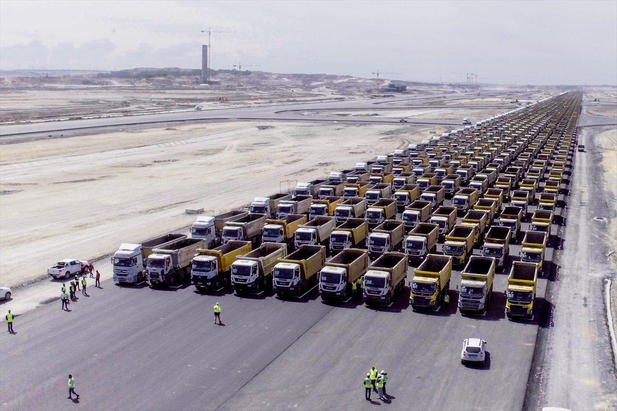 VİDEO | 1453 kamyonla 'fetih' kutlaması yaptılar