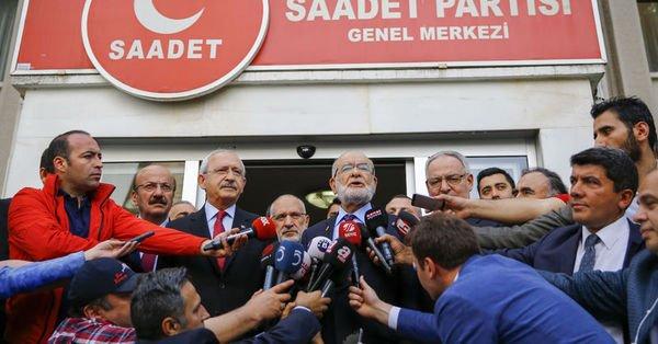Kılıçdaroğlu-Karamollaroğlu görüşmesi sonrası açıklama