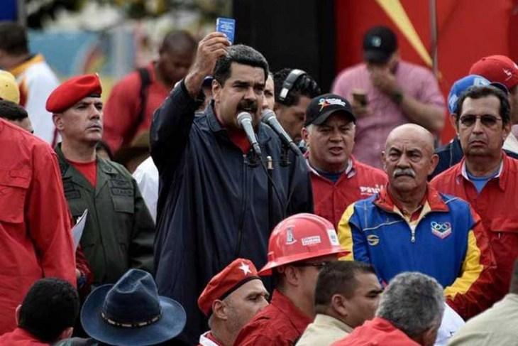 Maduro'dan orduya uyarı: ABD provokasyona hazırlanıyor