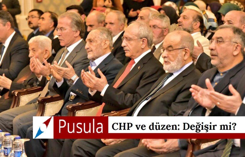 CHP ve düzen: Değişir mi?