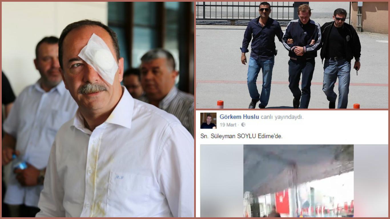 Edirne Belediye Başkanı'na saldıran zanlıyı tanıyalım: Bakan Soylu'yla ne ilgisi var?