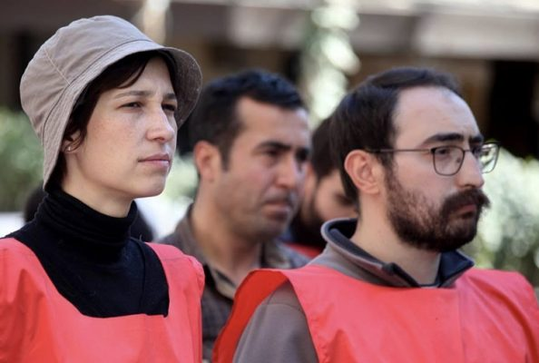 Gülmen ve Özakça eylemi nedeniyle yargılanan 33 kişiye ilk duruşmada beraat