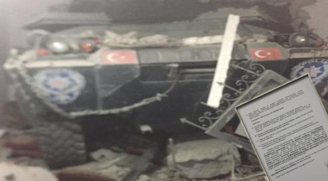 Polisin savunmasını bilirkişi raporu çürüttü: Panzer sağlam, polis kusurlu