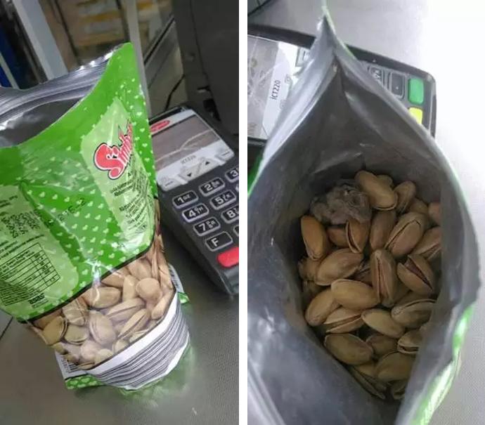 BİM'de satılan kuruyemişten fare kafası çıktı