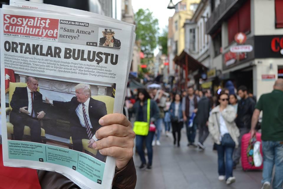 Sosyalist Cumhuriyet gazetesi